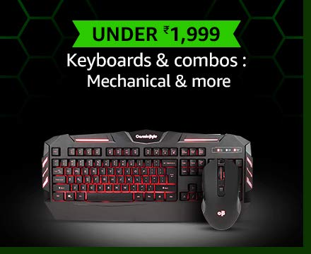Keyboards & combos : Mechanical & more