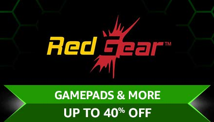 Redgear Gamepads & More Upto 40% off