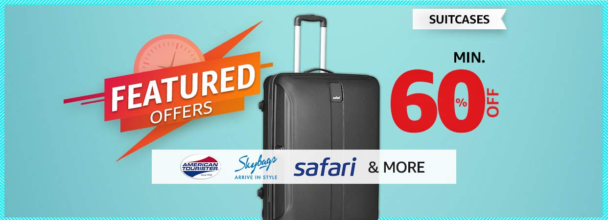 Suitcases   Featured Offer