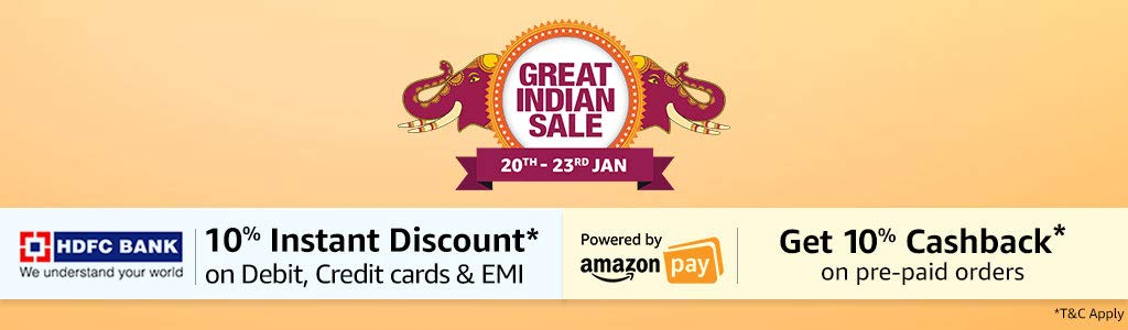 Great Indian Sale TnC