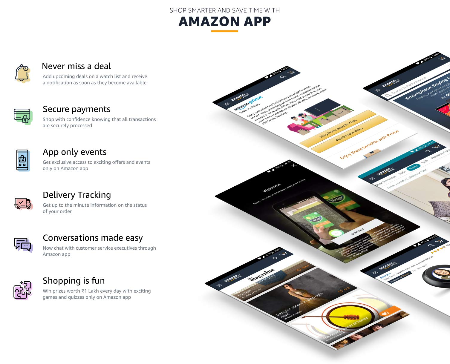 Download amazon shopping app