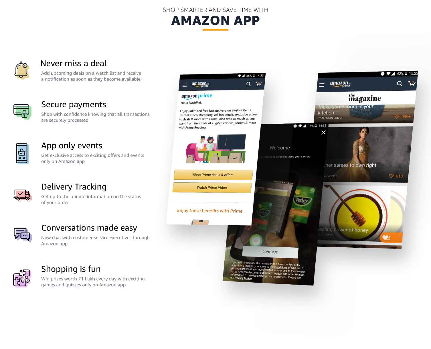 Amazon Shopping App @ Amazon in