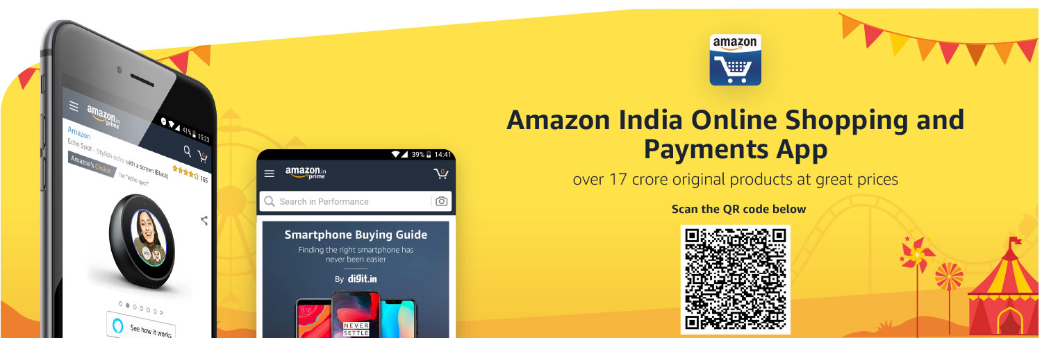 Download Amazon shopping app