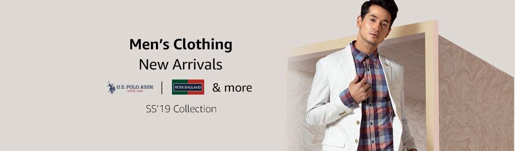 Men's Clothing| New Arrivals