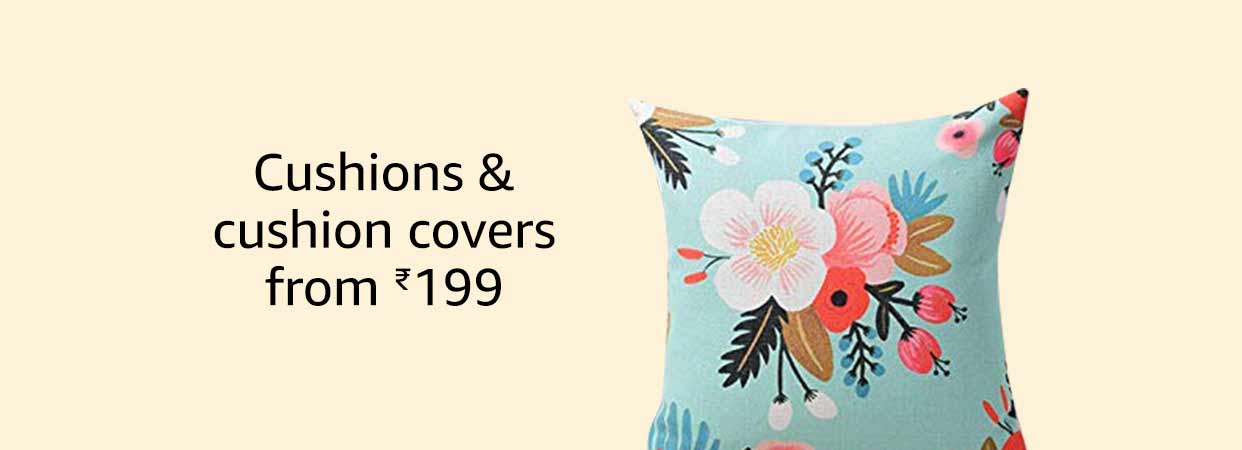 Cushions & Cushion covers from 199