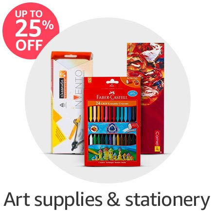 Art supplies & stationery