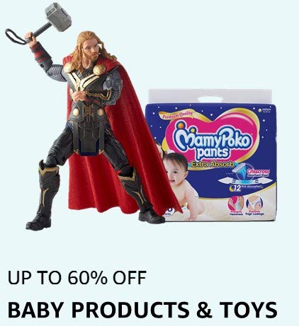 UP TO 60% OFF:BABY PRODUCTS & TOYS