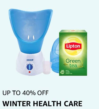 UP TO 40% OFF:WINTER HEALTHCARE