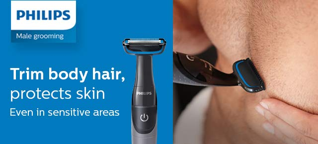 Philips body groomer