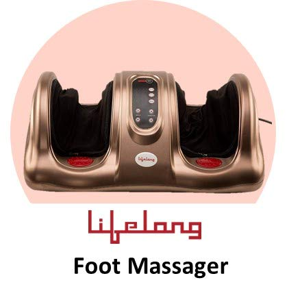 Lifelong LLM81 Foot Massager, Brown