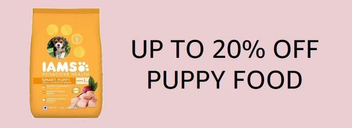 Puppy food