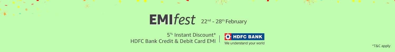 HDFC Bank EMI Fest