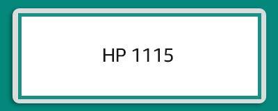 HP 1115