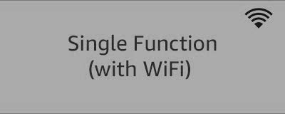 Single Function (with WiFi)