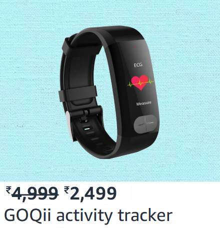 GOQii activity tracker