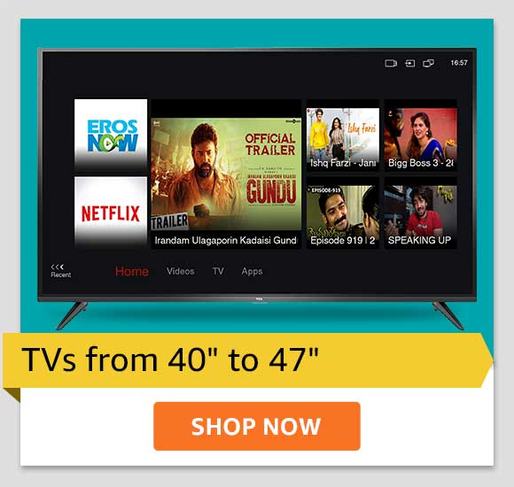 """TVs from 40"""" to 47"""""""