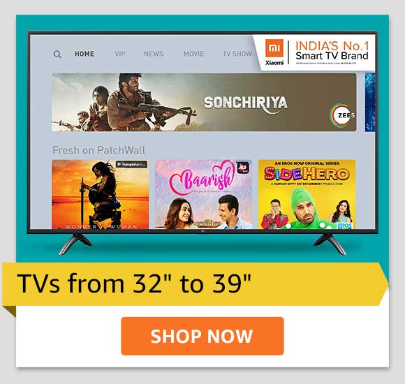 """TVs from 32"""" to 39"""""""
