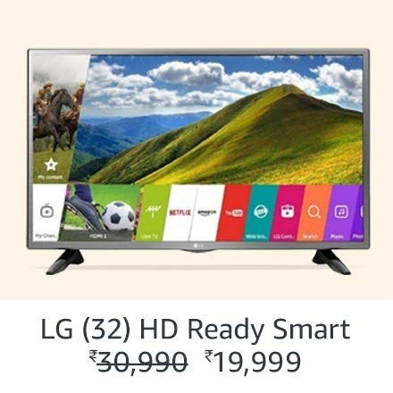 LG 32 HD Ready Smart