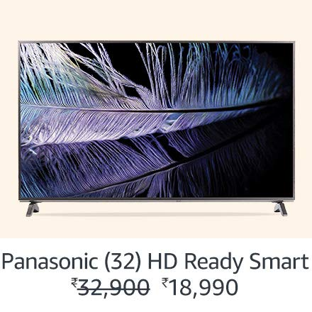 Panasonic 32 HD Ready Smart