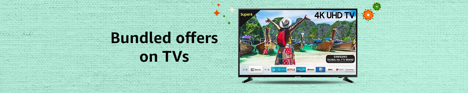 Bundled offers on TV Deals