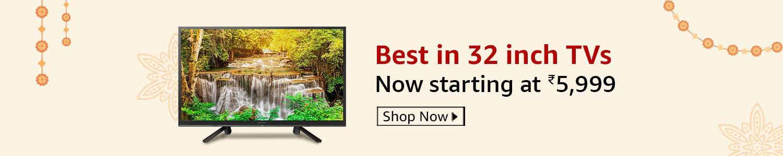 Top 32 inch TVs