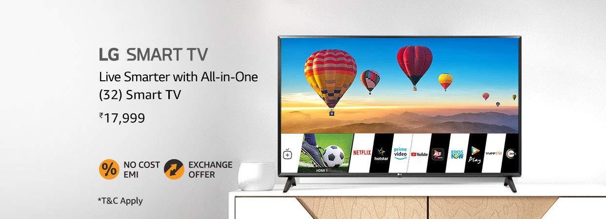 LG 32 smart TV