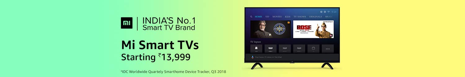 Tvs Buy Televisions Online At Best Prices In India Amazonin
