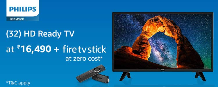 Philips Fire TV stick combo