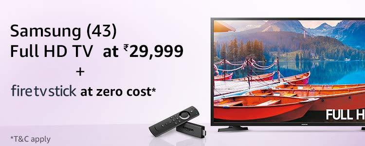 Samsung Fire TV Stick combo offer