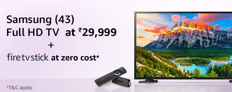 Samsung Fire TV Stick combo offer