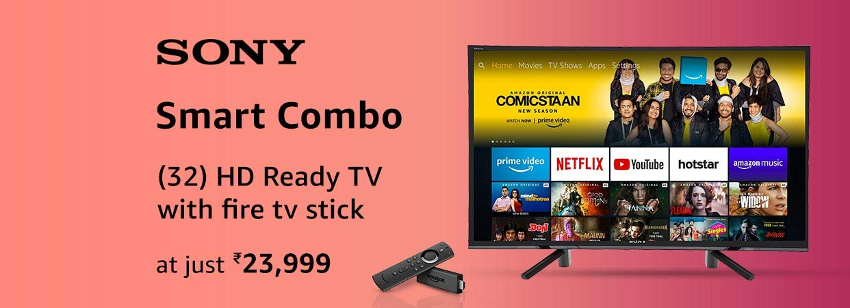 Sony Fire TV stick combo