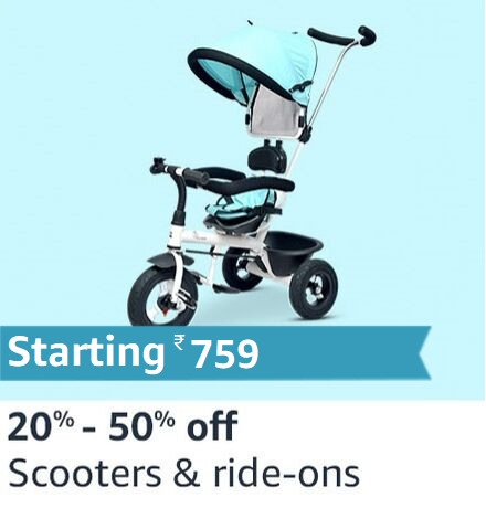 Scooters and Ride-ons
