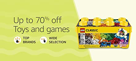 Up to 70% off toys and games