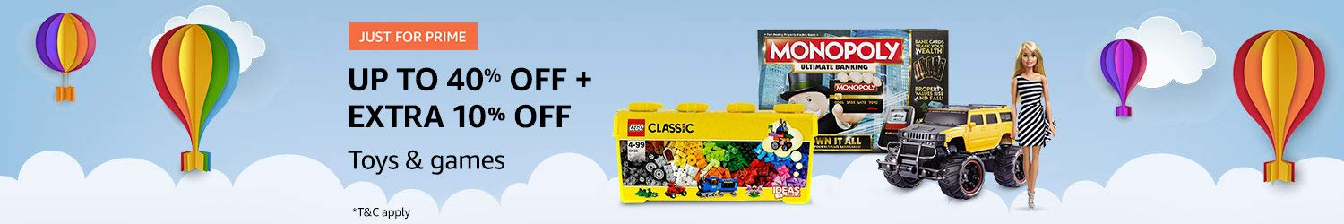 Prime deals in toys and games