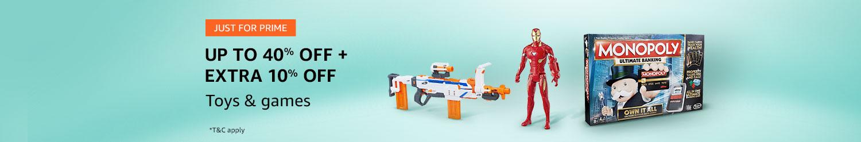 Prime Exclusive deals - toys