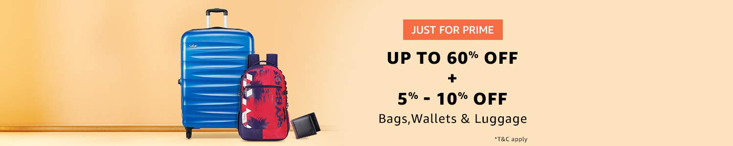 Luggage prime offer