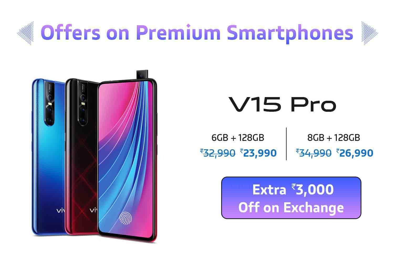 Vivo V15 Pro at Amazon Freedom Sale 2019