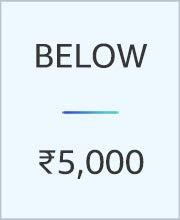 Below 5000