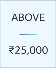 Above 25000