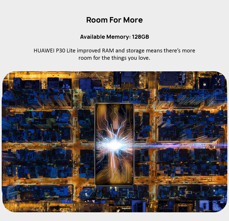 128GB memory