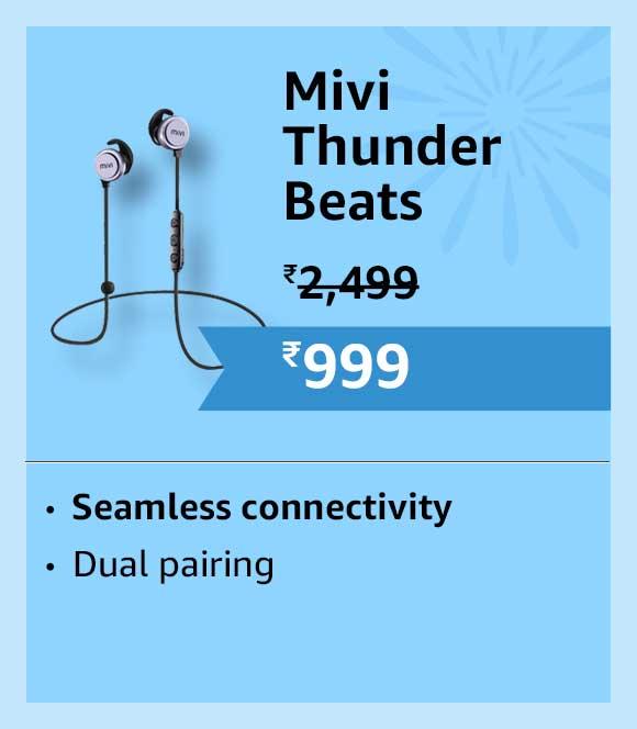 Mivi Thunder beats