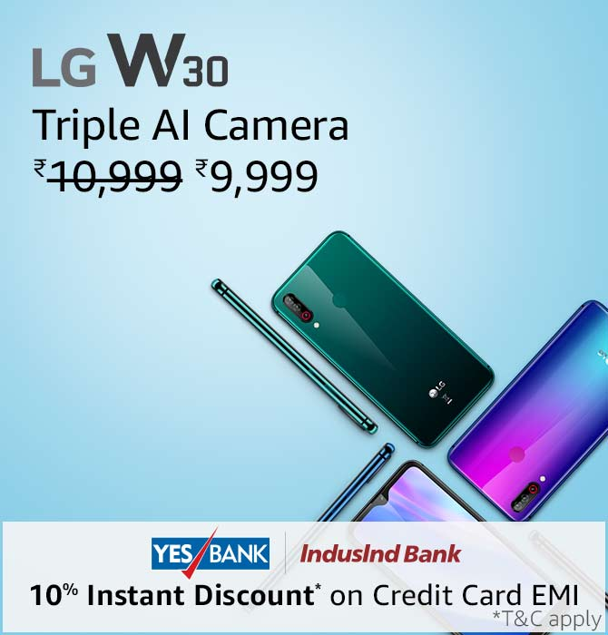 LG W 30