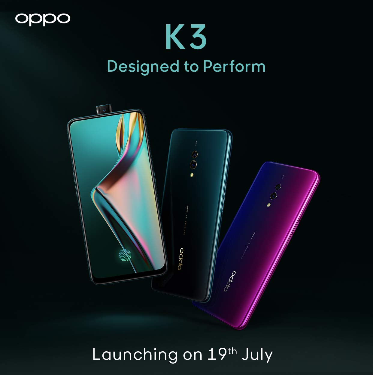 OPPO K3 launch teaser