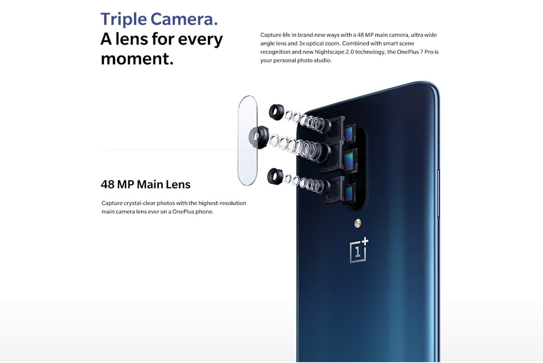 Triple camera