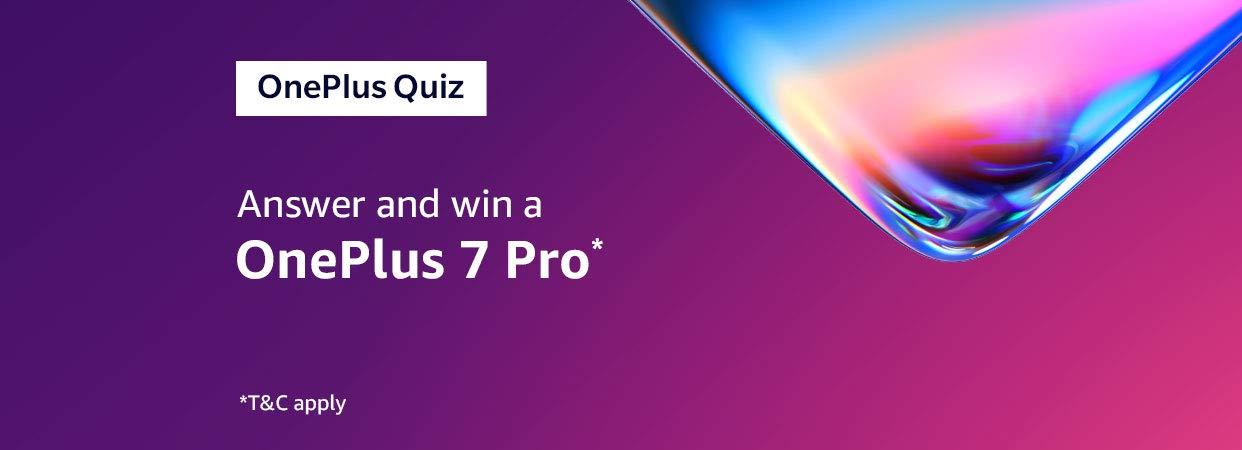 Amazon in: OnePlus 7 Pro Quiz: Electronics
