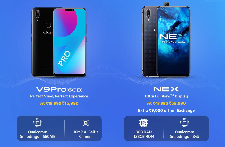 V9 and NEX
