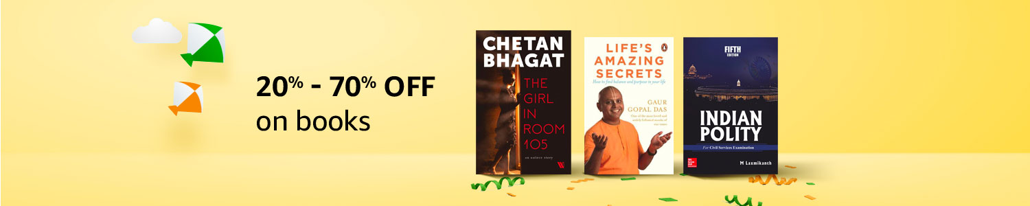 20%-70% off on books