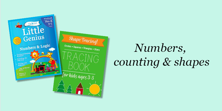 Numbers, counting & shapes