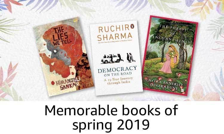 Memorable books of  spring 2019