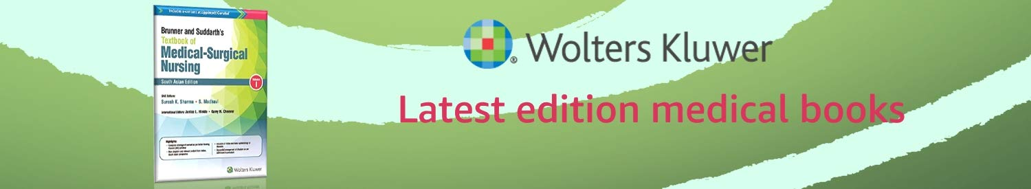 Wolters Kluwer: Latest edition medical books